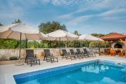 Luxury apartments Alkar with swimming pool