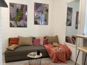 Hi5 Katowice Apartament Drewniany z Antresolą