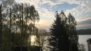Sielsko Anielsko willa na Kaszubach z widokiem na jezioro