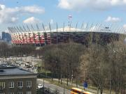 Next to PGE Narodowy
