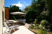 Very comfortable house steps from the beach with garden and terrace