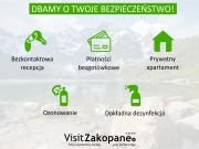 VisitZakopane Rainbow Apartment