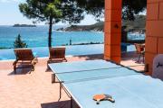 Luxury seafront villa