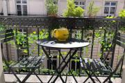 Duplex avec balcon fleuri Drouot Cadet