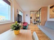 Euro24 Apartamenty Olcha Kawalerka w Sopocie z widokiem na morze