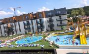 Apartament z basenem w Bel Mare blisko morza Międzyzdroje