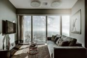 SKY APARTMENTS 40th floor Apartament z widokiem na Wrocław