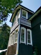 Klimatyczny dom noclegi w lesie miejskim