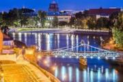 Lux Apartment with private GardenWroclaw Downtown