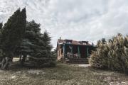 Kurpiowski drewniany domek na 68 osòb nad pieknym jeziorkiem na mazurach Wooden House for 68 people at the beautiful lake at Mazury