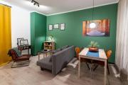 Zielone vintage mieszkanie