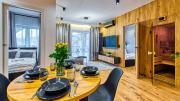 Apartament Wood Lux z Sauną 5D Apartamenty