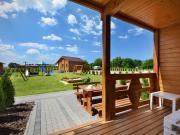 Wooden Bungalow in Mielenko Baltic Coast with Garden