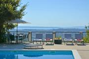 Villa with 4 bedrooms in Solin with wonderful sea view private pool enclosed garden 5 km from the beach