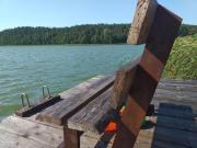 Dom nad jeziorem Wymój