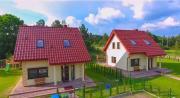 Luksusowe domy na Mazurach nad jeziorem