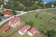 Komfortowe domki nad jeziorem Zielony domek 1