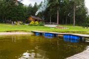 Domki nad jeziorem Necko