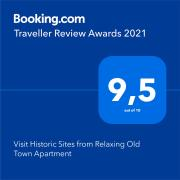 Visit Historic Sites from Relaxing Old Town Apartment
