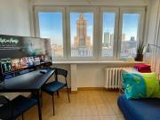 Super Apartament PALACE 2x Metro Fast WiFi 500 Mbs Netflix AppleTV SmartTV Panorama Miasta