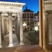 Lantica dimora con splendida vista sul Pantheon