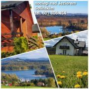 Pokoje Na Punkcie Widokowym Polańczyk  widok na Jezioro Solińskie i góry