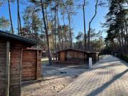 Międzywodzie domek nad Bałtykiem na wydmie 200m morze dawny ośrodek Boberek
