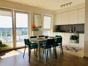 14th floor a lot of sun Near Baltic Baltic Sea and Reagaen Park Big balkoon Nice view Private parking place Gdansk oldtown 20min and Sopot 10min