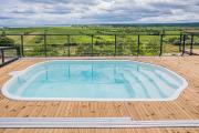Nowe Domki Deluxe z widokiem na zatokę z basenem i sauną