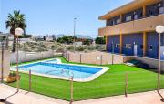 Stunning apartment in Isla Plana with Outdoor swimming pool WiFi and 2 Bedrooms