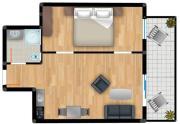 Residenz am Balmer See FeWo 38