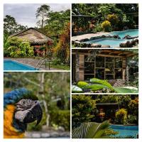 Oro y Luna Lodge, Chaty v prírode - Carlos Julio Arosemena Tola