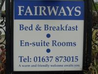 Fairways Guest House (B&B)