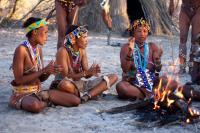 Tucsin Tsumkwe Lodge, Chaty v prírode - Tsumkwe