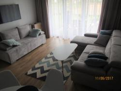 noclegi Pogorzelica Apartament z ogrodkiem