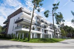 noclegi Pogorzelica Apartament wrzos z ogródkiem