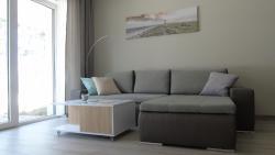 noclegi Pogorzelica Apartament Baltica z ogródkiem