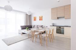 noclegi Rewal Raval Apartments - Soft Beige