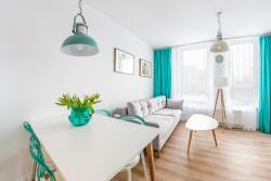 noclegi Gdańsk Wave Apartments Solvo
