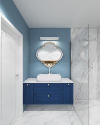 noclegi Gdynia Apartament niebieski – Blue