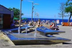 noclegi Rewal Ferienhäuser mit Pool