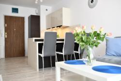 noclegi Kołobrzeg Apartament Błękitne Wybrzeże- z garażem