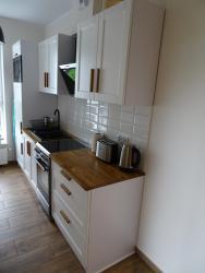 noclegi Gdańsk Apartament Bastion Wałowa z Ogródkiem - Tarasem