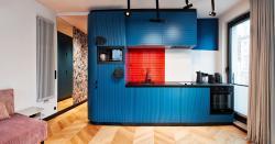 noclegi Kraków Rajska Blue Luxury Apartment