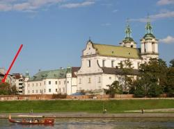 noclegi Kraków Apartments Krakow QUIET by the river & castle