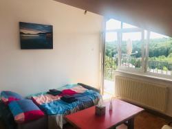 noclegi Gdynia Comfy room 22m2, big balcony, sea view (B)