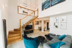 noclegi Giżycko Giżycko Soft Loft Apartament dwupoziomowy z klimatyzacją