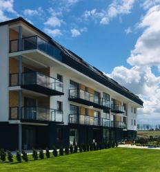 noclegi Sarbinowo Apartament 20 w Baltin Blu