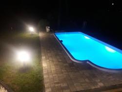 noclegi Baligród Jaśkowa Chata Bieszczady apartament z basenem
