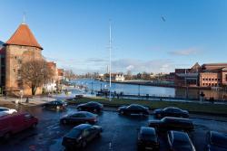 noclegi Gdańsk Gdańskie Apartamenty - Apartament Targ Rybny z widokiem na Motławę